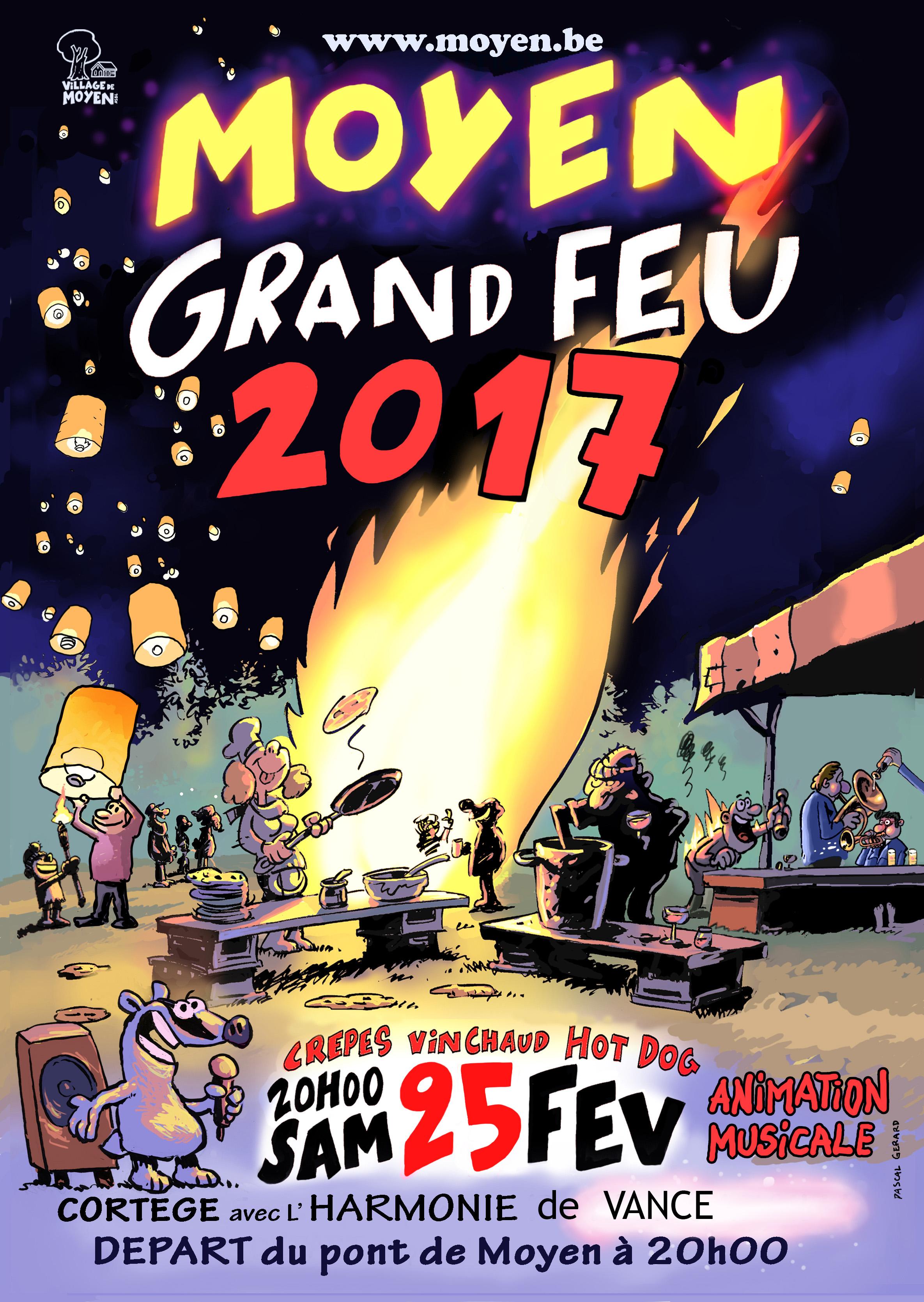Le grand feu 2017
